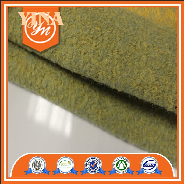 New style top quality woolen fabric knitted fabric for top gament