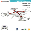 Newest 4D flip 2.4G phantom drone helicopter toy camera.