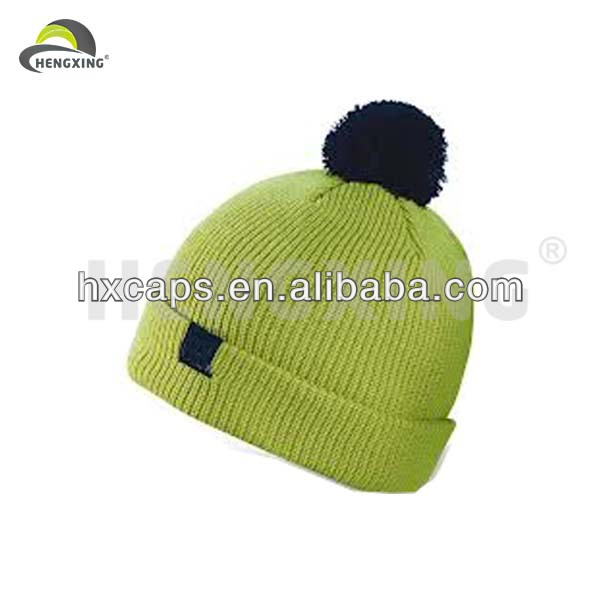 2014 Made In China Mens Knitted Winter Wool Caps