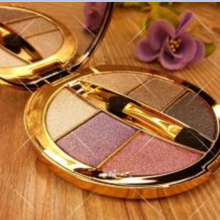 Professional 6 colors Diamond Bright Colorful Makeup Eyeshadow Super Make Up Set Glitter Eye shadow Palette With Brush&Mirror