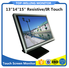Factory Supply Cheap 13 inch Square Resistive Touch Screen Monitor 1024x768 High Resolution