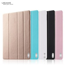 New Arrival For iPad Air 2 USAMS Flip PU Leather Stand Case Cover