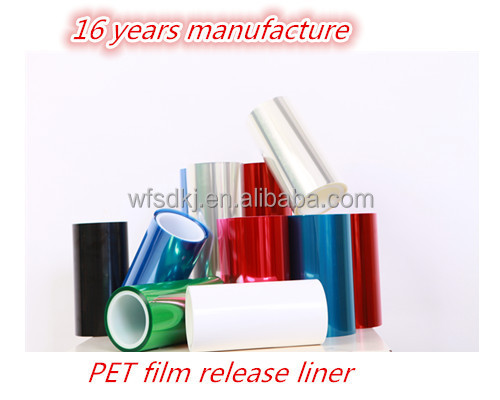 Pet Single Silicon Release Film manufactures