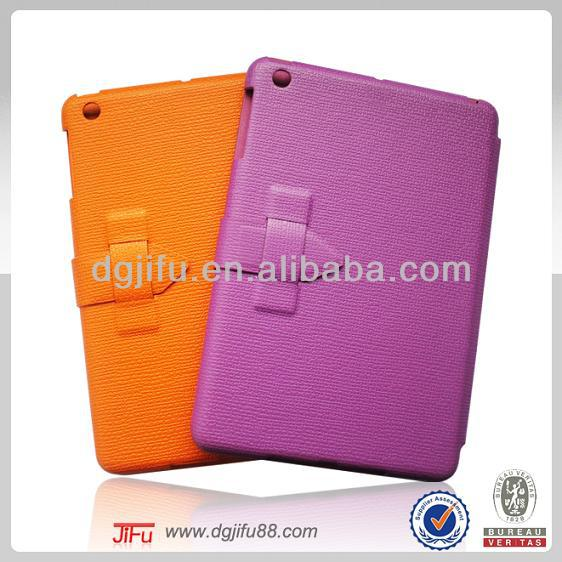 alibaba express newest tablet accessory for apple iPad mini 2 notebook leather case with Smart-Stay