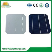"19%-19.8% 4.5w-4.73w wholesale prices for 6"" inch efficiency 3BB Mono Solar Cell made in China"