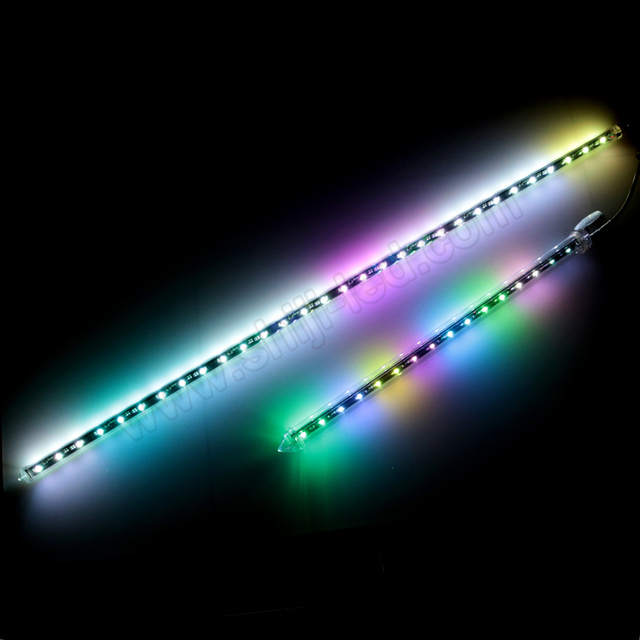 12V 24V DMX led 3D meteor shower light tube for TV hotel, KTV, bar, game room and other leisure