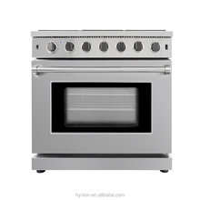 Kitchen ovens and stoves with a fish burner for home