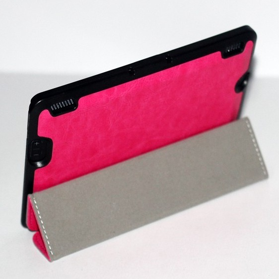 Smart cover leather case for kindle fire hdx 7