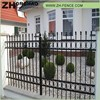 New Products 2016 Black Coated Wrought Iron Fence