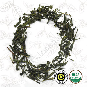 Certified organic sencha green tea