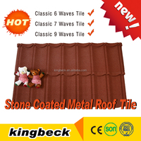 classic stone coated steel roofing tiles/cheap roofing sheets/ metal roof tile