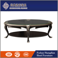 round wooden side table for sofa used in hotel/ restaurant/rest room JD-CJ-014center table