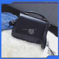 High Quality Girls Small Shoulder Bags Elegant Young Ladies Rotating Buttom Handbags