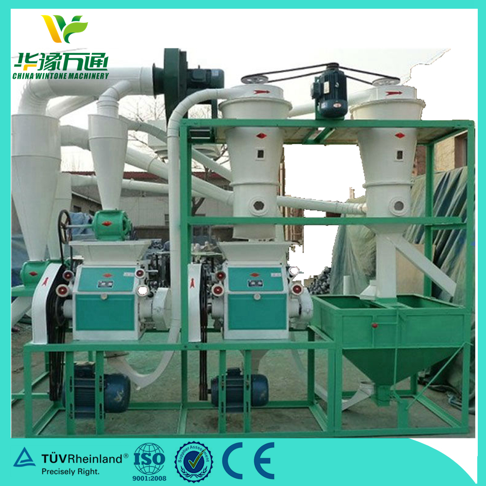 high-effective Chinese manufacturer hot sale 500kg/h wheat flour mill