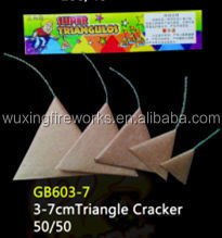 3-7CM Triangle Cracker/China Fireworks Factory