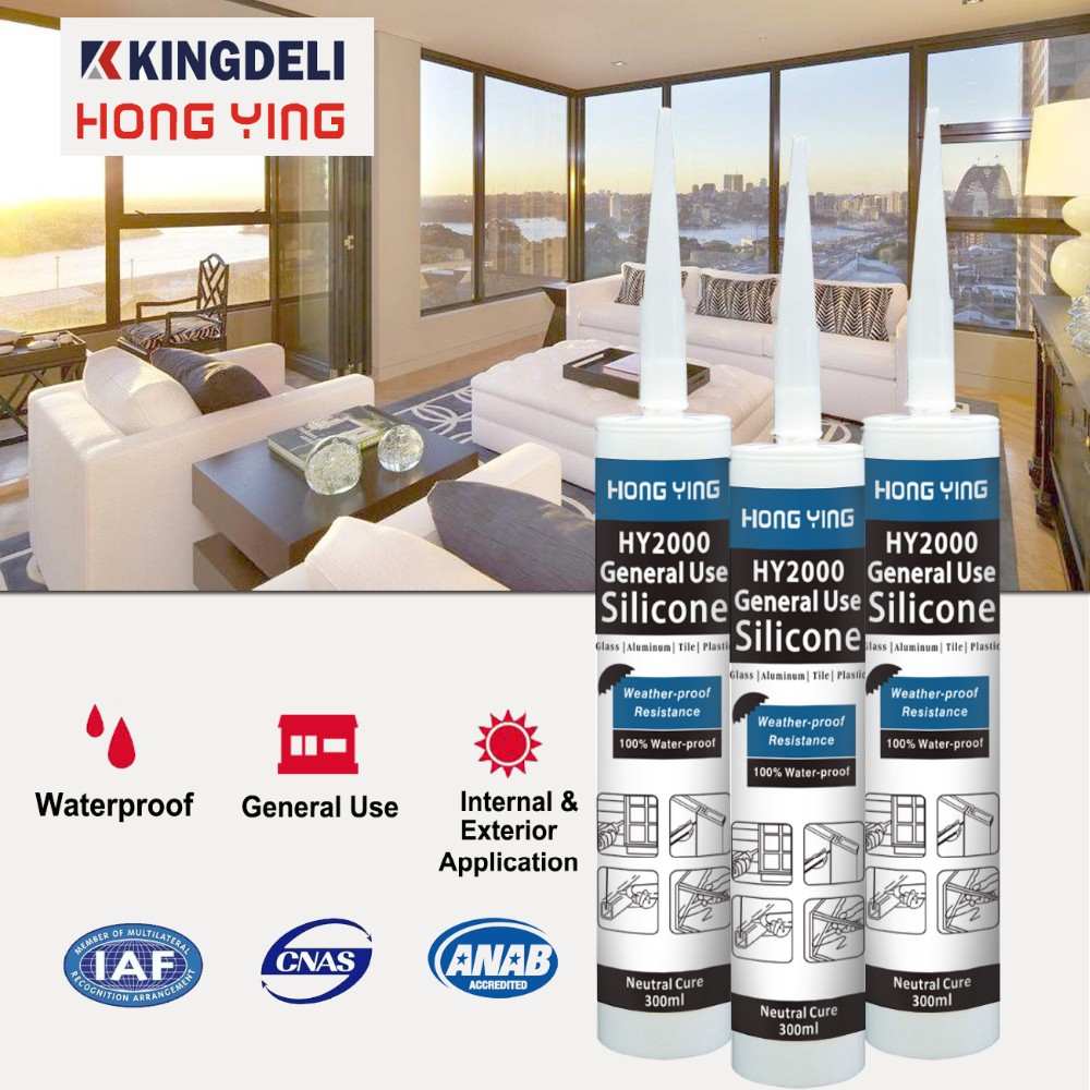 weather resistance aluminum composite panel silicone sealant