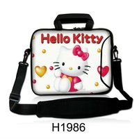 Cute custom neoprene hello kitty laptop sleeve