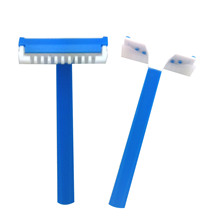 D132 ultrasonic welding single blade medical razor hospital razor with come