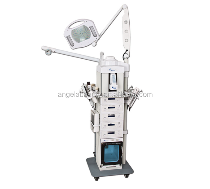 A-1608A Popular 19 in 1 multifunctional <strong>beauty</strong> &amp; personal care machine massage