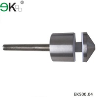 Stainless steel curtain wall fastener / glass standoff pin