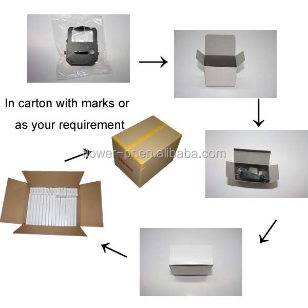 Compatible printer ribbon cassette for EPSON LQ2170