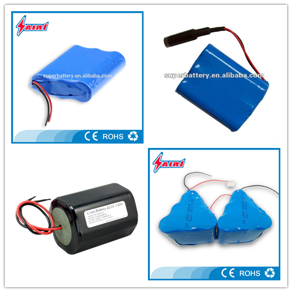 Good price rechargeable lithium ion 12V 60Ah ICR18650 battery pack