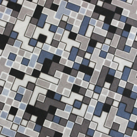 OEM service Cross multicolored checkered pattern fabric
