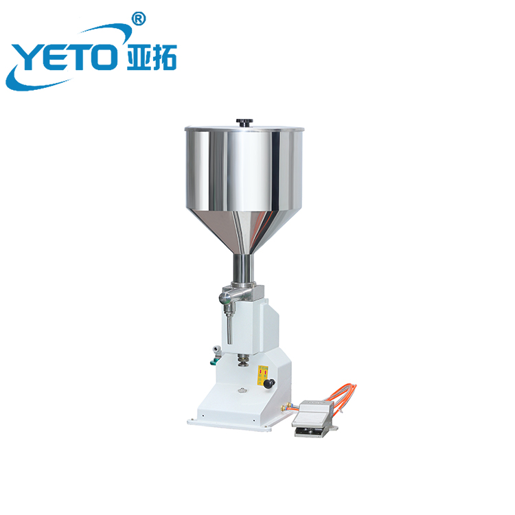 on sale <strong>A02</strong> automatic high accuracy 3-50ml pneumatic tomato cream paste lotion filling filler machine for small business