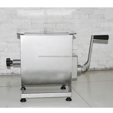 homemade manual stainless steel meat mixer machine