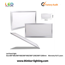 2017 factory superthin 8mm 100lm/w led panel 30x60 cleanroom 24w led panel light 30x60