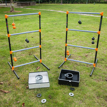 3 In 1 lawn game set- Ladder Toss Game , bean bag toss game, washer toss combo