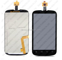 LCD display with touch screen for ZTE v970.Digitizer Glass Full Assembly For ZTE Grand X V970