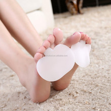 ZRWC05 silicone half insole for the front foot pain forefoot cushion GEL pad for high heel shoes