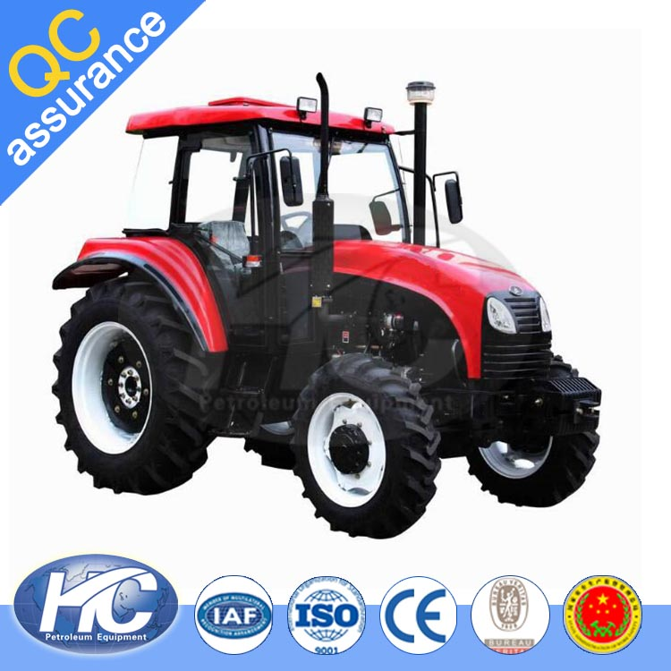 Wheel tractor type farm tractor front end loaders / mini tractor / farm tractor with cab on sale