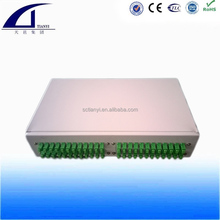 48 Cores Stainless Steel Rack Mounted Type Fiber Optic Termination Box