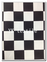chess twill fabric 100% cotton twill fabric for chess
