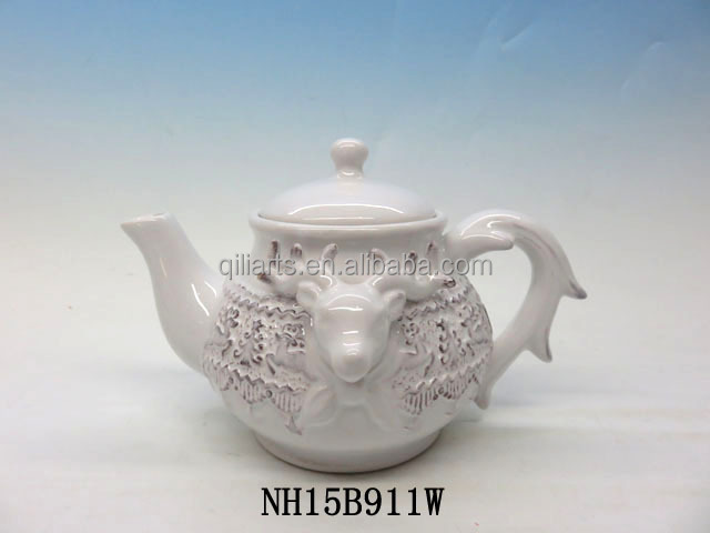 traditional design teapot for christmas