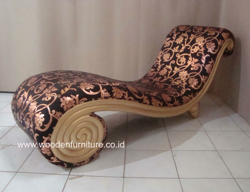 Sofa Snail Classic Golden Lounge Chair French Style Sofa Vintage Italian Furniture Antique Reproduction European Home Furniture