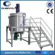 500L electric heating double jacketed mixing tank for liquid soap,liquid detergent