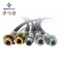 Premium bending anti-aging circulating epdm hydraulic brake hose lines kits by foot