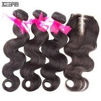 Virgin Brazilian And Indian Hair Piece Extension And Weaves