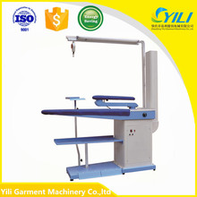 industrial vacuum blowing ironing equipment table price for shirts