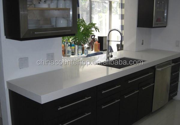 snow white engineered quartz arbeitsplatte quarz stein produkt id 1569566087. Black Bedroom Furniture Sets. Home Design Ideas