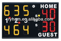 wireless remote control led electronic tennis scoreboard