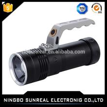 Hunting equipment fishing gun lamp,power style Led flash light,small rechargeable Led torch