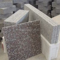 Eson Stone chinese granite g664 pink polished thin tiles polished and honed for wall and floor
