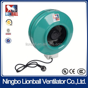With 35 years experience UL approval plastic backward circular duct fan