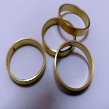 custom brass mateal machining industrial ring parts