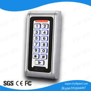Outdoor Waterproof Metal RFID Access Control Reader (MAW6)