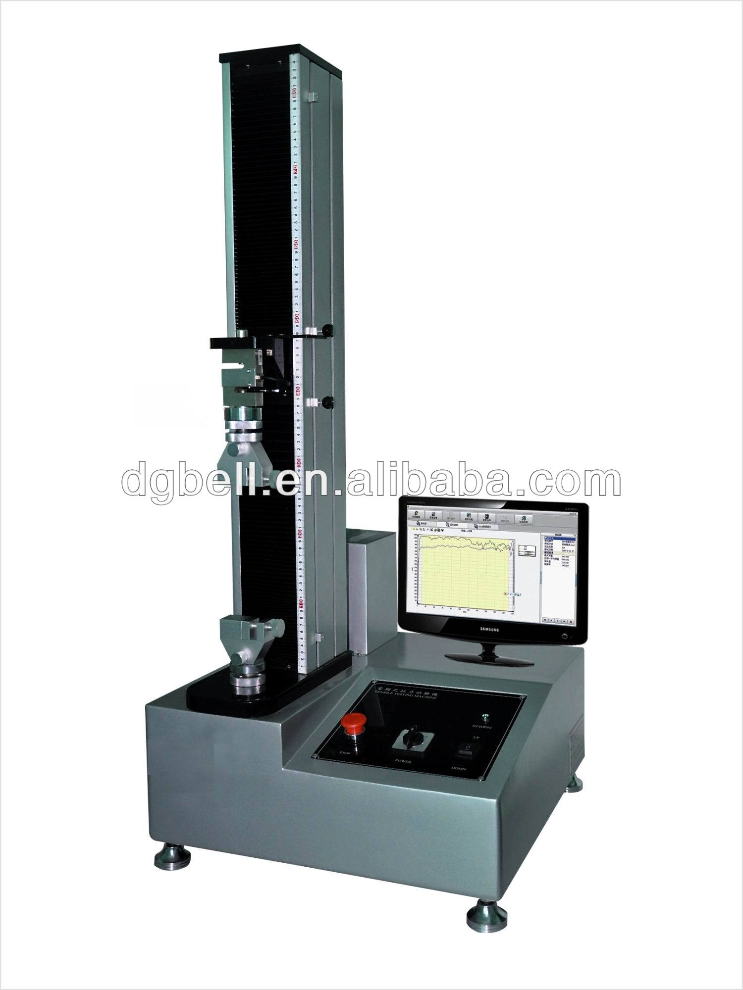 Programmable computer controlled plastic film tensile strength tester made in China